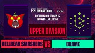 Dota2 - Hellbear Smashers vs. Brame - Game 1 - DreamLeague S15 DPC WEU - Upper Division