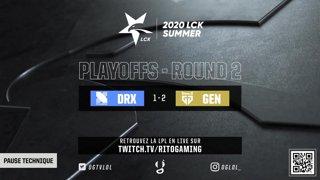 LCK Playoffs Round 3 - DRX vs GEN - BO5