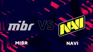 Highlight: Group 3 Day 1 MIBR vs Navi Map 2 Train