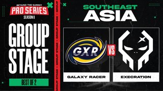 Galaxy Racer vs Execration Game 1 - BTS Pro Series 8 SEA: Group Stage w/ MLP & johnxfire