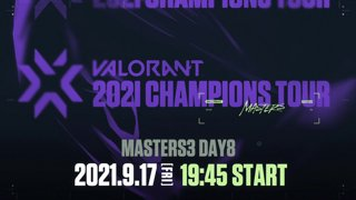 VCT Stage 3 - MASTERS BERLIN Day 8