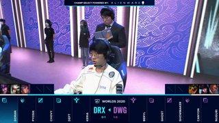 DWG vs. DRX | Quarterfinals | 2020 World Championship | DAMWON Gaming vs. DRX