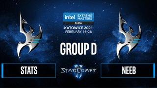 SC2 - Stats vs. Neeb - IEM Katowice 2021 - Group D