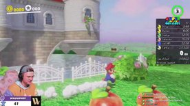 How to get on top of peaches castle