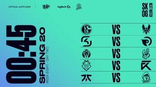 Week 8 Day 2 | LEC Spring Split (2020)