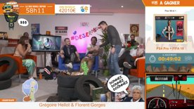 Desert Bus De L'Espoir #6 : Trunks (JVTV) & Donald Reignoux (comédien de doublage)
