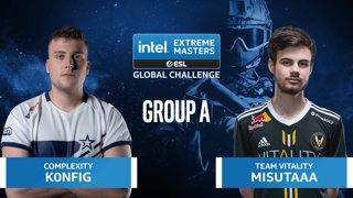 CS:GO - Team Vitality vs. Complexity [Dust2] Map 2 - IEM Global Challenge 2020 - Group A