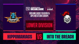 Dota2 - Into The Breach vs. Hippomaniacs - Game 2 - DreamLeague S15 DPC WEU - Lower Division