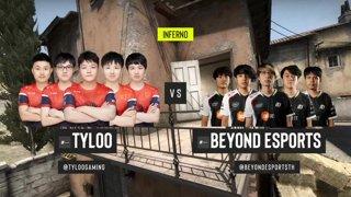 CS:GO - TYLOO vs. Beyond [Inferno] Map 3 - ESL Pro League Season 12 - Playoffs - Asia