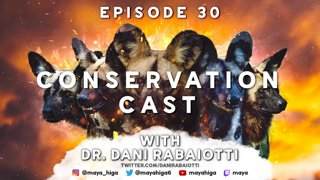 CONSERVATION CAST E. 30 with Dani Rabaiotti for Zoological Society of London