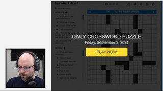 If you can solve crosswords like this you can do anything (Crosswords)