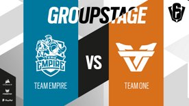 Team Empire VS Team oNe // SIX INVITATIONAL 2021 – Group stage – Day 1