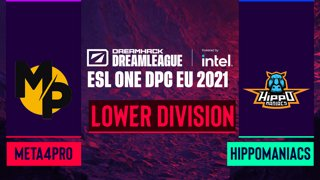 Dota2 - Hippomaniacs vs. Meta4Pro - Game 2 - DreamLeague Season 14 DPC: EU - Lower Division