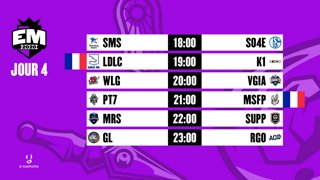 EU Masters - Groups Day 4