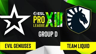 CS:GO - Evil Geniuses vs. Team Liquid [Overpass] Map 2 - ESL Pro League Season 13 - Group D