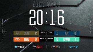 GEN vs. AF - HLE vs. DWG [2020 LCK Spring Split]