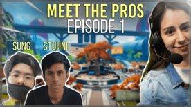 Meet the Pros EP.1 ft. Stuhni & Sung! (Uncut)
