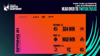 2021 LEC Spring - Semifinal - G2 Esports vs MAD Lions