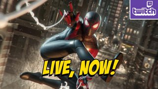 ZIPPIN N' FLIPPIN - SpiderMan Miles Morales PS5 !ads !nzxt