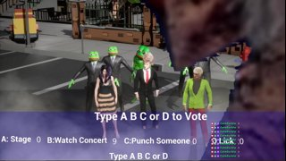 Marcus Bell Ice Cream Sandwhich Music Video Mixed Reality In Pepe Story Game