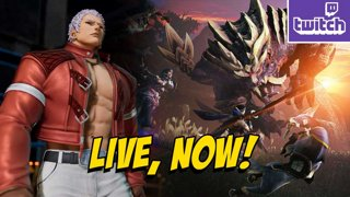 KOF15 Yashiro Trailer - TIME 2 HUNT - Monster Hunter Rise Is Out! (3-25) !ads !nzxt