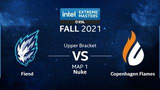 CS:GO - Copenhagen Flames vs. Fiend [Nuke] Map 1 - IEM Fall Closed Qualifiers 2021 - Europe - Upper Bracket