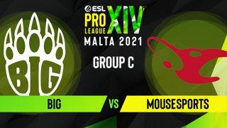 CS:GO - BIG vs. mousesports [Mirage] Map 3 - ESL Pro League Season 14 - Group C