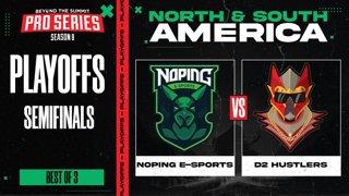 NoPing vs D2 Hustlers Game 3 - BTS Pro Series 8 SEA: Playoffs w/ Ares & Danog