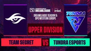 Dota2 - Team Secret vs. Tundra Esports - Game 3 - DreamLeague S15 DPC WEU - Upper Division