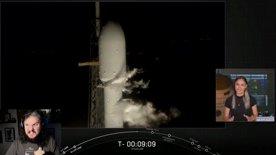 SpaceX - Countdown e lancio Falcon 9