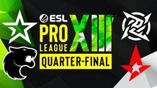 Full Broadcast: ESL Pro League Season 13 - Quarter-final Day 25 - April 9, 2021
