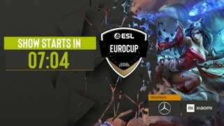 ESL LoL EuroCup - Finals - EURONICS Gaming vs devils.one