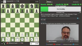 Highlight: Ben Finegold Plays 1 f3!??