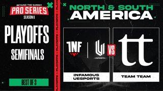 INF.UESPORTS vs Team Team Game 1 - BTS Pro Series 8 AM: Playoffs w/ Kmart & ET