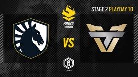 Team Liquid vs. Team oNe - LATAM League 2021   Stage 2 - Playday 10   #BR6