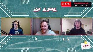SN vs. TT | BLG vs. IG - Week 7 Day 2 | LPL Spring Split (2021)