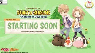 Story of Seasons: Olive Town #ad (March 13th 2021)