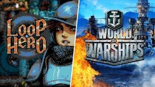 Loop hero puis World of Warships !tuto venez jouer avec moi et #ad mirrez mes tirs de canon.