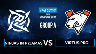 CS:GO - Ninjas in Pyjamas vs Virtus.pro [Ancient] Map 1 - IEM Cologne 2021 - Group A
