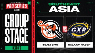 SMG vs Galaxy Racer Game 1 - BTS Pro Series 8 SEA: Group Stage w/ MLP & johnxfire