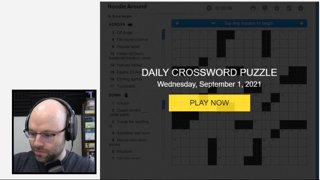 pretending to be mad at funny themes (Crosswords)