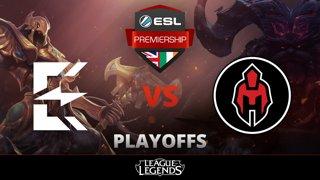 Enclave Gaming vs Hyperion Playoffs Game 1 ESL Premiership Season 2018