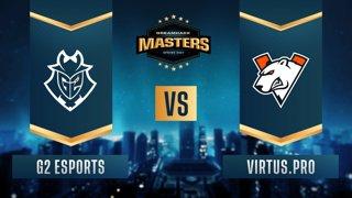 CS:GO - Virtus.pro vs. G2 Esports [Inferno] Map 2 - DreamHack Masters Spring 2021 - Group A