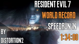 RE7 NG Madhouse in 1:34:00 (World Record)