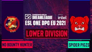 Dota2 - Spider Pigzs vs. No Bounty Hunter - Game 2 - DreamLeague Season 14 DPC: EU - Lower Division