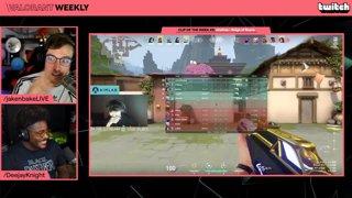 Valorant Weekly #8 w/ @DeejayKnight (Main Stream: Twitch.tv/Twitch) - !YouTube !Discord Follow @jakenbakeLIVE on !Social