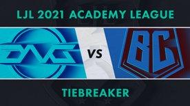 DFM.A vs BC.A LJL 2021 Academy League Tiebreaker Game 2