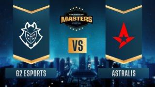 CS:GO - G2 Esports vs. Astralis [Train] Map 1 - DreamHack Masters Spring 2021 - Quarter-final