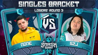 n0ne vs S2J - Singles Bracket: Losers' Round 3 - Smash Summit 10 | Captain Falcon vs Captain Falcon
