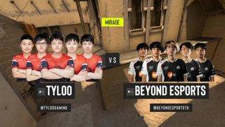 CS:GO - TYLOO vs. Beyond [Mirage] Map 2 - ESL Pro League Season 12 - Playoffs - Asia